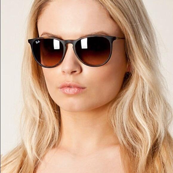 ray ban erika tortoise shell sunglasses